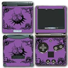 Amazon Com Legend Of Zelda Link Majora S Mask Special Edition Purple Video Game Vinyl Decal Skin Sticker Cover For Nintendo Gba Sp Gameboy Advance System Video Games