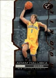 2007-08 Bowman Elevation Blue Hornets Basketball Card #78 Adam Haluska /99    eBay