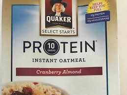 quaker select starts 10 grams protein