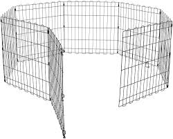 Pet Fence Outdoor Indoor Playpens For Dogs Yard Foldable Exercise Pen Metal New Chihuahua Style