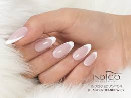 How To Create French Manicure Using Gels