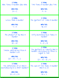 writing expressions math expressions
