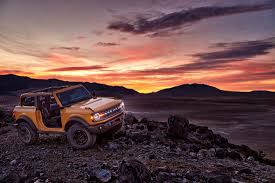 2021 Ford Bronco site crashed as ...