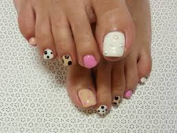 pedicure nail designs for spring 2016