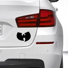 Funny Wu Tang Vinyl Sticker Decal Rap Hip Hop Car Truck Window Bumper Illest Drift 16 X 12 Cm Wish