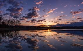 sunrise hd wallpapers lake forest dark