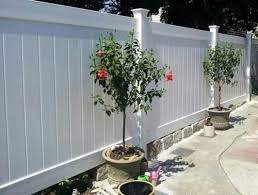 White Linden Pro Privacy Fence Panel Kit Finish W Concrete Bricks Below Of Your Color Choice To Fill In Fence Landscaping Privacy Fence Panels Fence Design