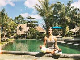 yoga teacher in bali
