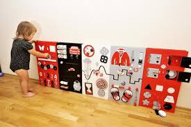 Montessori Children Learning Wall Toy Kids Waiting Room Etsy