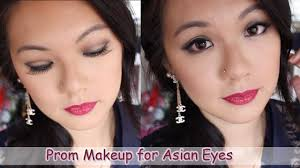 prom makeup for asian eyes easy brown