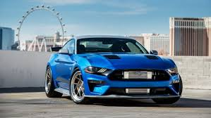 ford mustang gt blue ferris wheel