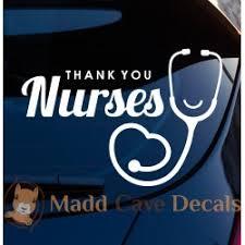 Nurse Car Decal Nurse Sticker Nurse Decal For Car