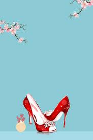 minimalist fashion women s shoes poster