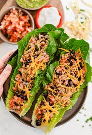 turkey taco lettuce wraps the cozy cook