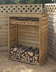 homemade diy firewood racks ideas