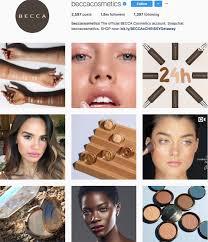 beauty brands to follow on insram