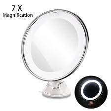 magnifying cosmetic makeup mirror