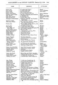 SUPPLEMENT TO THE LONDON GAZETTE, FEBRUARY 25, 1869. 1349