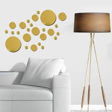 Rose Gold Wall Decals Chandelier Quotes Metallic Art Dots Peel And Stick Hobby Lobby For Nursery Vamosrayos