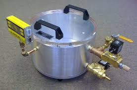vcc controlled low vacuum chamber