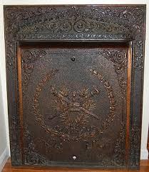 ornate interior gas fireplace insert
