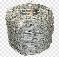 Barbed Wire Electric Fence Livestock Electrical Cable Barbwire Transparent Png