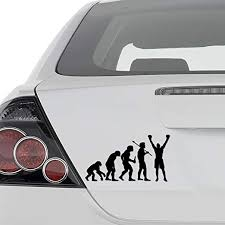 Amazon Com Ape Human Evolution Of Boxing Boxer Vinyl Decal Sticker Wall Decor Motorcycle Car Truck Windows Bumper Size 15 In 38 Cm Wide Color Gloss Black Home Kitchen