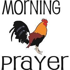 morning prayer picture art god christ kjv family religious