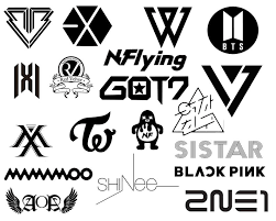 Kpop Vinyl Decal Bts Blackpink Exo Twice And More Etsy