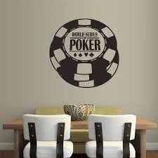 Amazon Com Stickersforlife Wall Decal Vinyl Sticker Decals Casino Poker Championship Gaming Game Pieces Boys Z1643 Home Kitchen