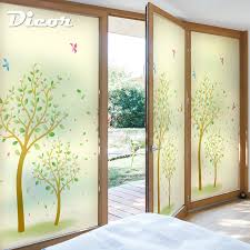 free custom stained static cling window