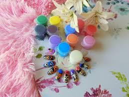 Zdobienie Paznokci Przy Pomocy Farbek Akrylowych Trusted Cosmetics
