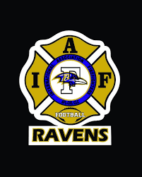 Iaff Baltimore Ravens Car Decal For Union Firefighters Free Etsy