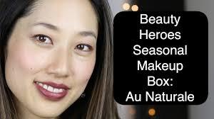 au naturale makeup demo beauty heroes