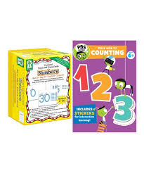 counting numbers card book bundle