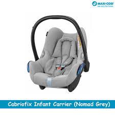 maxi cosi cabriofix infant carrier