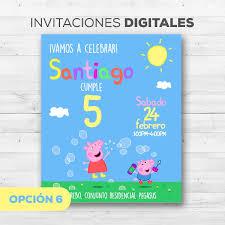 Nuevo Peppa Pig George Edad 2 Tarjeta De Cumpleanos Invitaciones Y