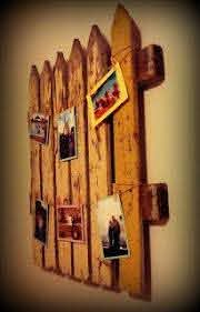 Picket Fence Wall Art Finally Finishedby Bare Feet On The Dashboard Picket Fence Decor Fence Decor Wood Crafts