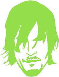 Amazon Com Win Stickers Decals Daryl Dixon 2 Neon Greendye Cut Decal For Cars Bumpers Windows Notebooks Etc Automotive