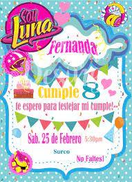 Soy Luna Invitation Soy Luna Birthday Soy Luna Invitacion Soy Luna Party Invitation Soy Luna Fiesta De Cumpleanos Soy Luna Printable Decoracion De Soy Luna Fiestas De Soy Luna Invitaciones De