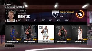 NBA 2K19 - Dallas Mavericks Roster ...