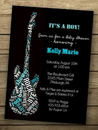 Rock A Bye Baby Shower Invitation Invitaciones De Baby Shower