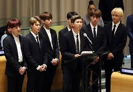 bts un speech synthesis bts bangtan sonyeondan medium