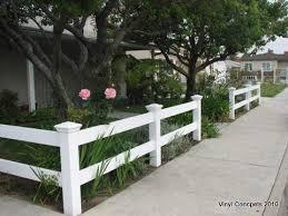 Tasteful 2 Rail Front Yard Fence Fence Design Fence Landscaping Backyard Fences