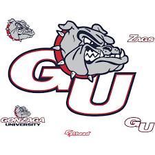 Gonzaga Bulldogs Logo Giant Officially Licensed Removable Wall Decal Gonzaga Bulldogs Gonzaga Bulldog Decor