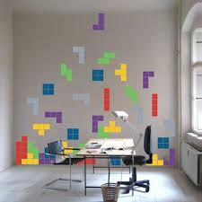Tetris Wall Art Stickers Trendy Wall Designs Game Room Sticker Wall Art Wall Design