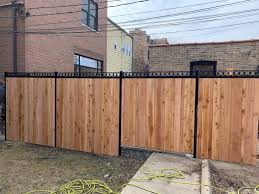 Wood Fence Chicago Residential Wood Fence Company