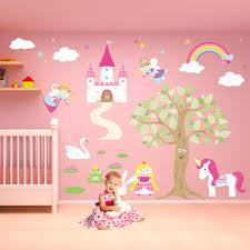 Fairy With Stars Ps Wall Decal Mm Thickness D Mirror Stickers Independence