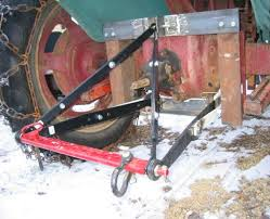 3 point hitch for a farmall h