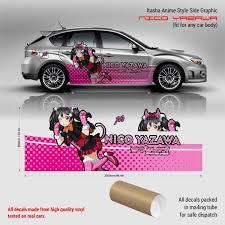 Nico Yazawa Itasha Anime Style Side Graphic Decals Love Live School
